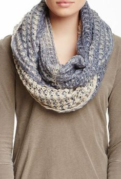 Same material in the Infinity scarf & got mine for Christmas in a nice brown with some blends of different colors.
