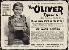 Oliver Typewriter Company, est. 1896 - Made-in-Chicago Museum