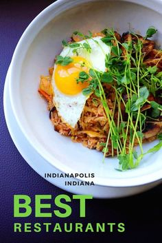 Best Indianapolis Restaurants in Indiana: savor the flavors at these hot spots downtown and outside of the city center where fresh farm flavors are coming together and mixologists are creating cocktails worth the drive.