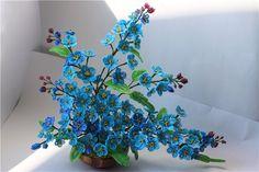 Незабудки, незабудки - загляните на минутку)))))) | biser.info - всё о бисере и бисерном творчестве