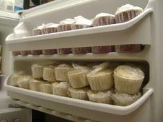 can i freeze cupcakes