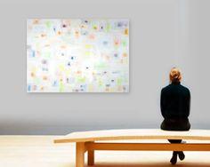 original abstract painting  acrylic on canvas  by linneaheideart, $1000.00