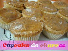 cupcake de churros - receita