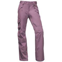 Women's The North Face Freedom Insulated Pants 2018 - Medium Purple Snowboard Pants, Ski Pants, Purple Pants, Printed Pants, Autumn Winter Fashion, Casual Outfits, Ski Outfits, The North Face, Pants For Women