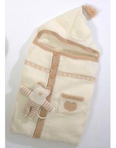 Modèle Nid d'ange CB10-45- Patron tricot gratuit