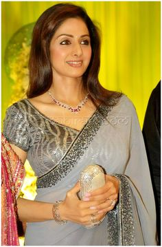 Sridevi..one of my favorite actress from back in the day..I would like to look like this when I am 48 year old!
