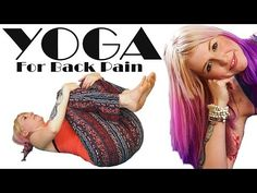 Morning Yoga for Back Pain Relief At Home Stretches and Exercises Beginners Workout - YouTube