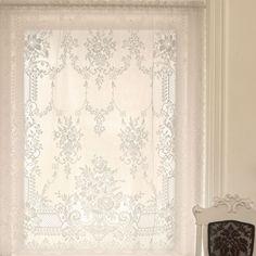 Downton Abbey window treatment