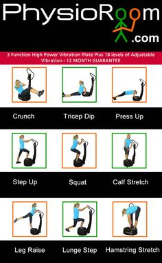 Ways to use your Vibration Plate.