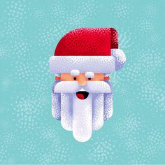 Flat Design Santa Claus Character Illustration in Adobe Illustrator cc 2019 I created a simple flat design portrait of Santa Claus. If you want to know more about my flat design illustrations or use my brushes for your flat design… Continue Reading → Simple Illustration, Flat Design Illustration, Graphic Illustration, Design Illustrations, Graphisches Design, Graphic Design Tutorials, Graphic Design Inspiration, Vector Design, Site Design
