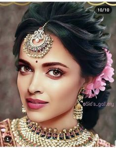 Tips And Tricks For Healthy Youthful Skin Bridal Hairstyle Indian Wedding, Indian Wedding Makeup, Bridal Hair Buns, Indian Wedding Hairstyles, Wedding Hair And Makeup, Bride Hairstyles, Bridal Hairdo, Indian Makeup, Updo Hairstyle