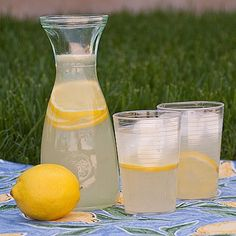 Chick-Fil-A Lemonade. Ive been looking for this recipe for ages. I love their lemonade.