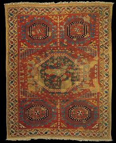 Anatolian carpet - Listed as 'probably 1700-1800'