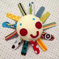 DIY Handmade Baby Toys : DIY Mr Sun Fabric Busting Baby Teething Toy Sewing