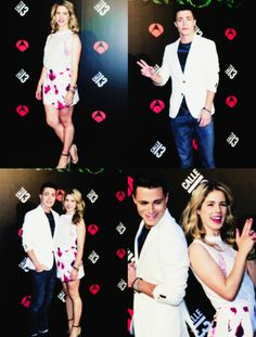 emily dating colton Emily bett rickards and colton haynes (their dating in real life ) just so u  #arrow emily & colton #emton .