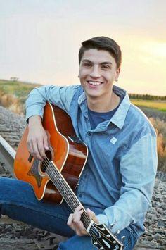 Senior Boy Photography Guitar