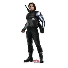 Advanced Graphics Winter Soldier from Captain America Civil War Life-Size Cardboard Standup