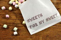 10 genähte Papiertüten | SWEETS FOR MY SWEET  Verkäufer: blick7