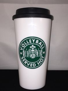 Items similar to Volley Ball Personalized Starbucks Style Cup (Volley Ball Coach, Volley Ball Player, Volley Ball Team, volley Ball Dom/Dad/Parent) on Etsy Volleyball Gear, Coaching Volleyball, Personalized Starbucks Cup, Personalized Cups, Volleyball Pictures, Team Pictures, All The Things Meme, Coach Gifts, Cup Design