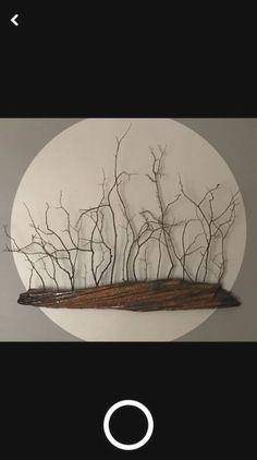 Ideas Drift Wood Art For 2019 art diy art easy art ideas art painted art projects Nature Crafts, Home Crafts, Diy Home Decor, Art Crafts, Driftwood Projects, Driftwood Art, Driftwood Mobile, Driftwood Wreath, Twig Art