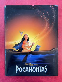 Walt Disney's Pocahontas Film Movie Press Kit Media Folder 1995