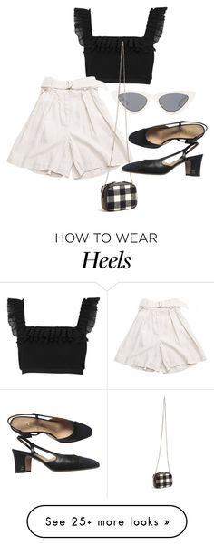 """Untitled #23432"" by florencia95 on Polyvore featuring River Island, Le Specs, Isabel Marant, Christopher Kane and Chanel How To Wear Heels, Cute Fashion, Womens Fashion, Le Specs, Christopher Kane, Isabel Marant, River Island, Outfit Ideas, Chanel"