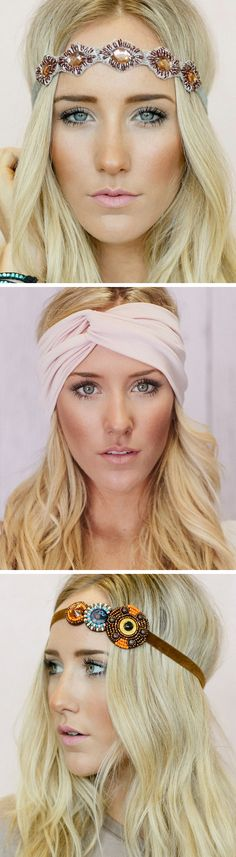 Beautiful, Boho Headbands