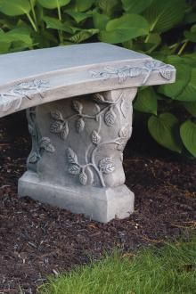 Items available at BF landscape 856-740-1445 www.bflandscape.com ITEM #4612 Concrete Bench, Garden Furniture, Garden Sculpture, Bird, Landscape, Outdoor Decor, Home Decor, Outdoor Garden Furniture, Decoration Home