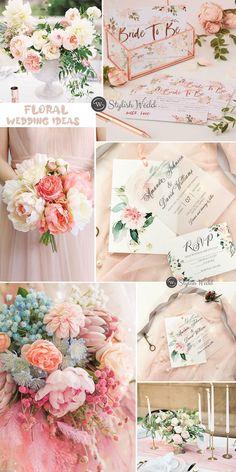 elegant blush pink floral wedding ideas #wedding #weddinginvitations#stylishwedd #stylishweddinvitations #vellumweddinginvitations