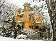 The Henry Packer Mansion (1874) in Jim Thorpe, PA.