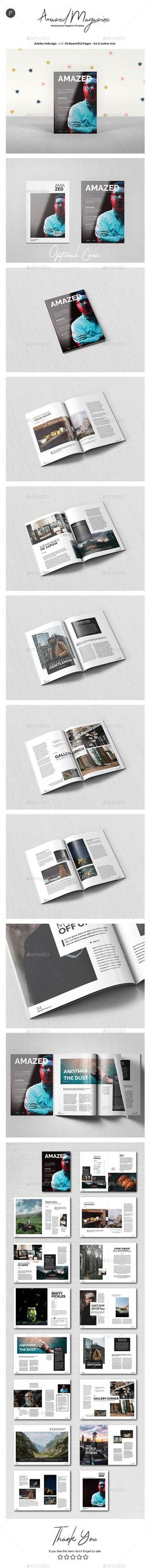 Buy Multipurpose Magazine by profpungguk on GraphicRiver. Multipurpose Magazine / Brochure Template 30 page minimal magazine template for designers working on multipurpose des. You Magazine, Magazine Design, Magazine Template, Brochure Template, Color Change, Give It To Me, Layout, Templates, Image
