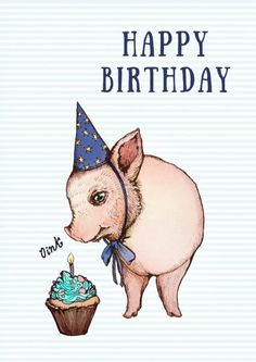 Birthday, oink!