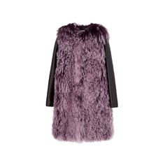 VOGUE FASHION ITEM SEARCH ❤ liked on Polyvore featuring outerwear, coats, coats & jackets, miu miu and purple coat