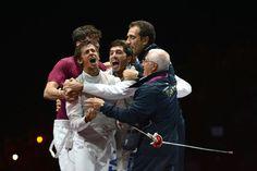 rsLondon2012: Italia è oro anche nel fioretto maschile