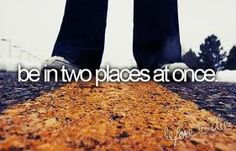 Bucket List - a walk to remember <3