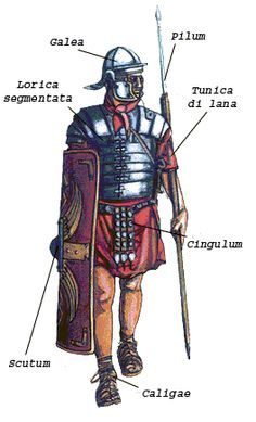 ANCIENT ROMAN GEAR AND WEAPONS