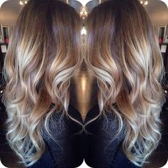 light brown and blonde balayage - Google Search