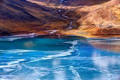 Lakeside at Tibet by Haiwei Hu on 500px