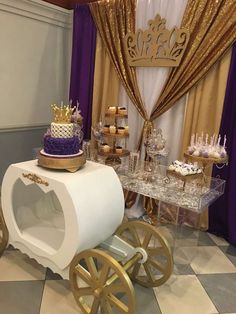 Princess Baby Shower Party Ideas | Photo 1 of 10
