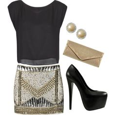 """Friday Night Out"" by lklein23 on Polyvore"