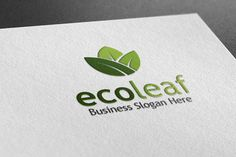 Check out Eco Leaf Style Logo by BDThemes Ltd on Creative Market
