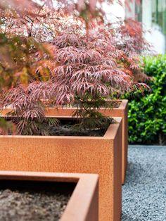 Plantenbakken, boombakken, haagbakken, bloembakken in cortenstaal (verkrijgbaar op maat)