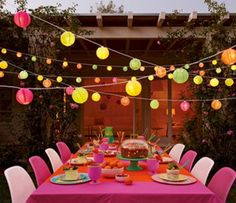 1000 images about rooftop party ideas on pinterest for Terrace party decoration