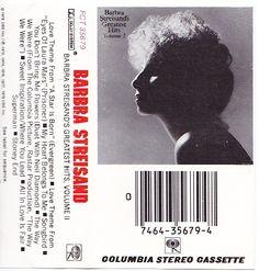 "Barbra Streisand - ""Greatest Hits, Volume 2"" (1978) at Discogs"