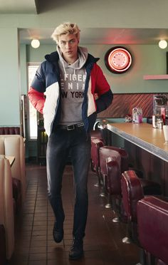 Lucky Blue for Hilfiger Denim Fall/Winter 2016 Campaign | Photographed by Devyn Galindo ❤