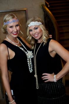 Gatsby themed holiday party, roaring 20s, 1920s headpiece