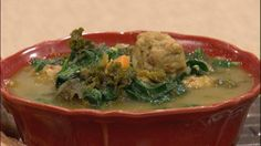 Hearty Greens Soup with Turkey Meatballs from Living Well Network Let's Dish Air Date 1/4/2014