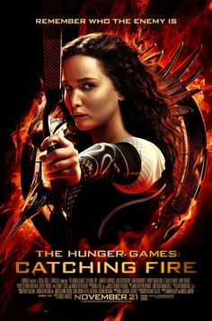 Remember Who the Enemy is Catching Fire movie poster