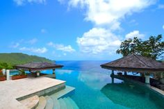 The Coolest Vacation Rental Infinity Pools Tropical Hideaway, Bequia, St Vincent and Grenadines Rates: Starts at $6,650 per week