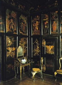 The Princess' Lacquer Cabinet - Rosenborg Castle (Rosenborg Slot) is a renaissance castle located in Copenhagen, Denmark.